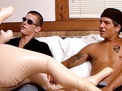 Straight Boys Gettin' Dirty - Cain With an increment of Gabriel
